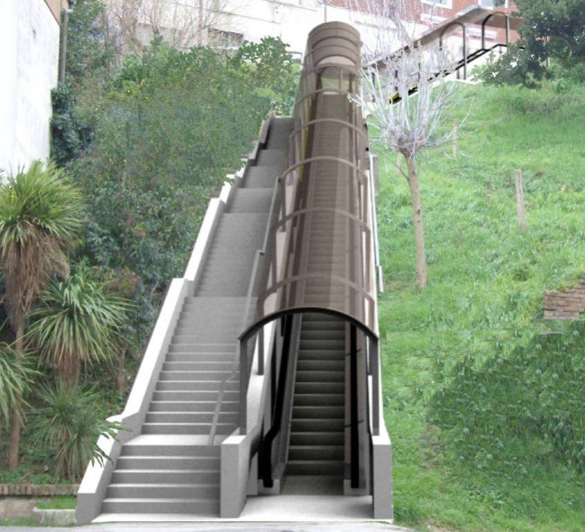 CASTELFIDARDO – MECHANIZED PLANT BETWEEN MICHELANGELO SQUARE AND DON MINZONI SQUARE
