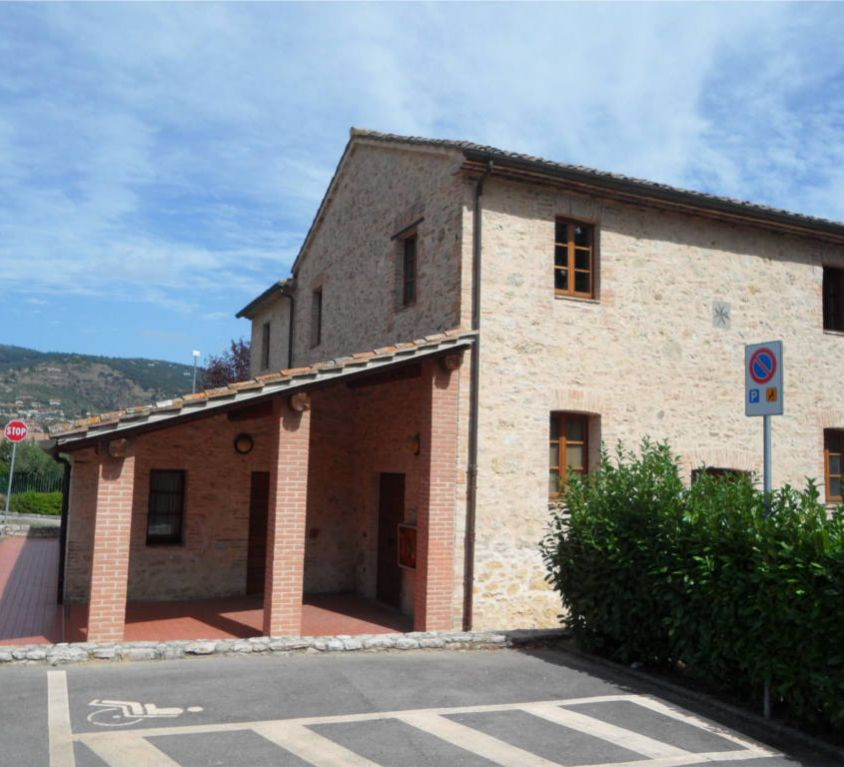 BUILDINGS IN THE MUNICIPALITY OF CORCIANO (PG)