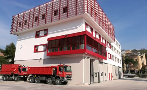 ANCONA – NEW FIRE-FIGHTERS HEADQUARTERS