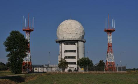 Torre Radar ENAV a Ravenna (RA)