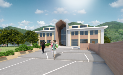 Visso – Ricostruzione scuola Capuzi con parziale riconversione a sede municipale
